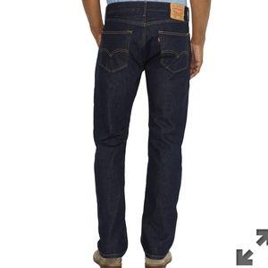 Men's Levi's 505 jeans straight leg NWT 31 X 34